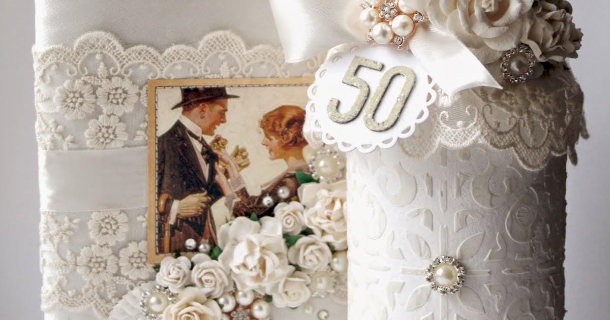 Варианты подарков на золотую свадьбу от гостей и родных